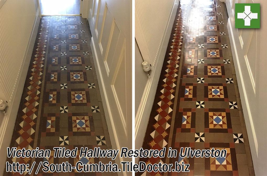 Damaged Victorian Hallway Restoration in Ulverston