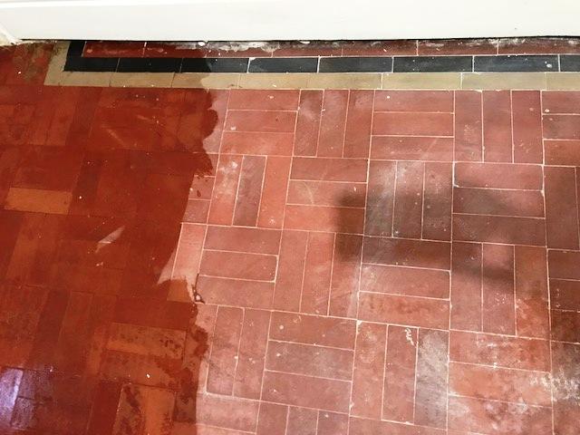 Victorian Floor Tiles During Renovation Torver